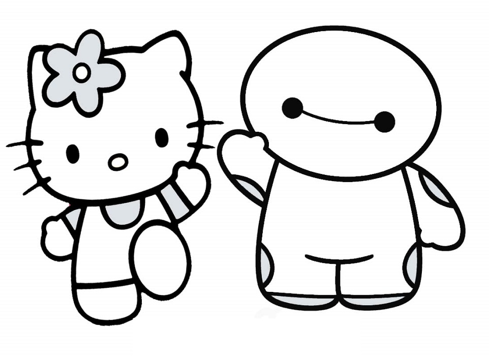 Easy Coloring Pages Cartoon