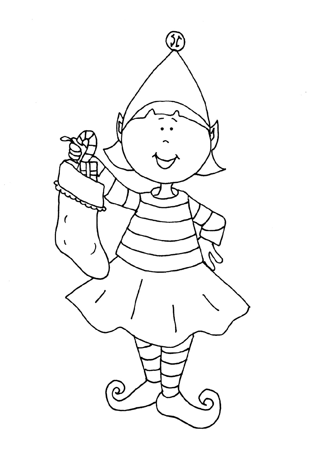 Download Elf on The Shelf Coloring Pages   101 Coloring