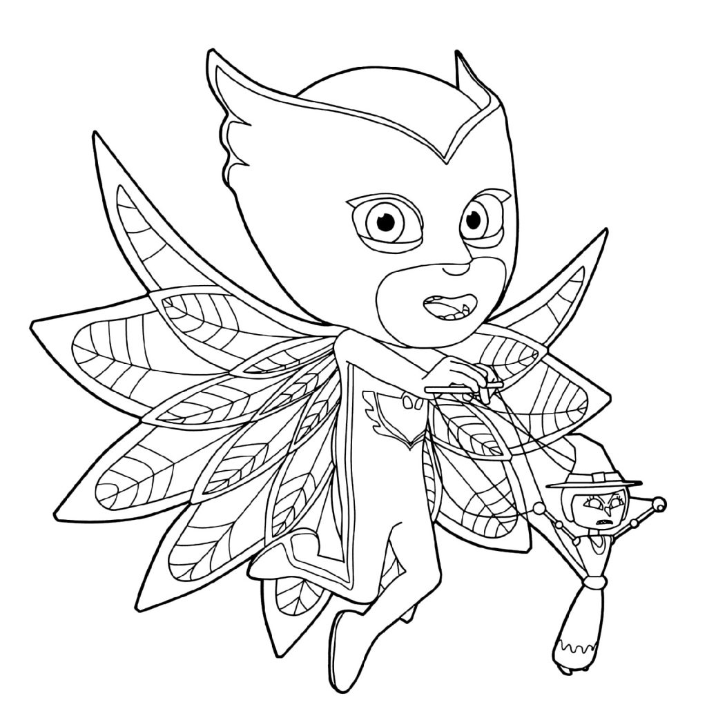 Fantastical Pj Masks Coloring Pages
