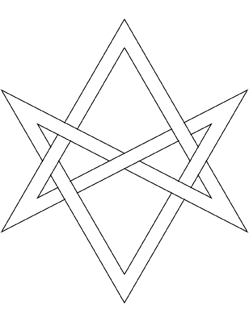 Five Pointed Star Coloring Pages