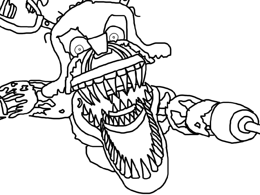 Five Nights At Freddy's Coloring Pages Collection - Whitesbelfast | 750x1000