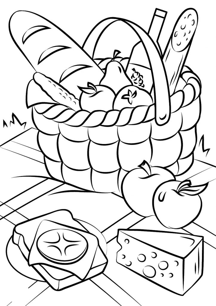 - Delicious Food Coloring Pages For Children 101 Coloring