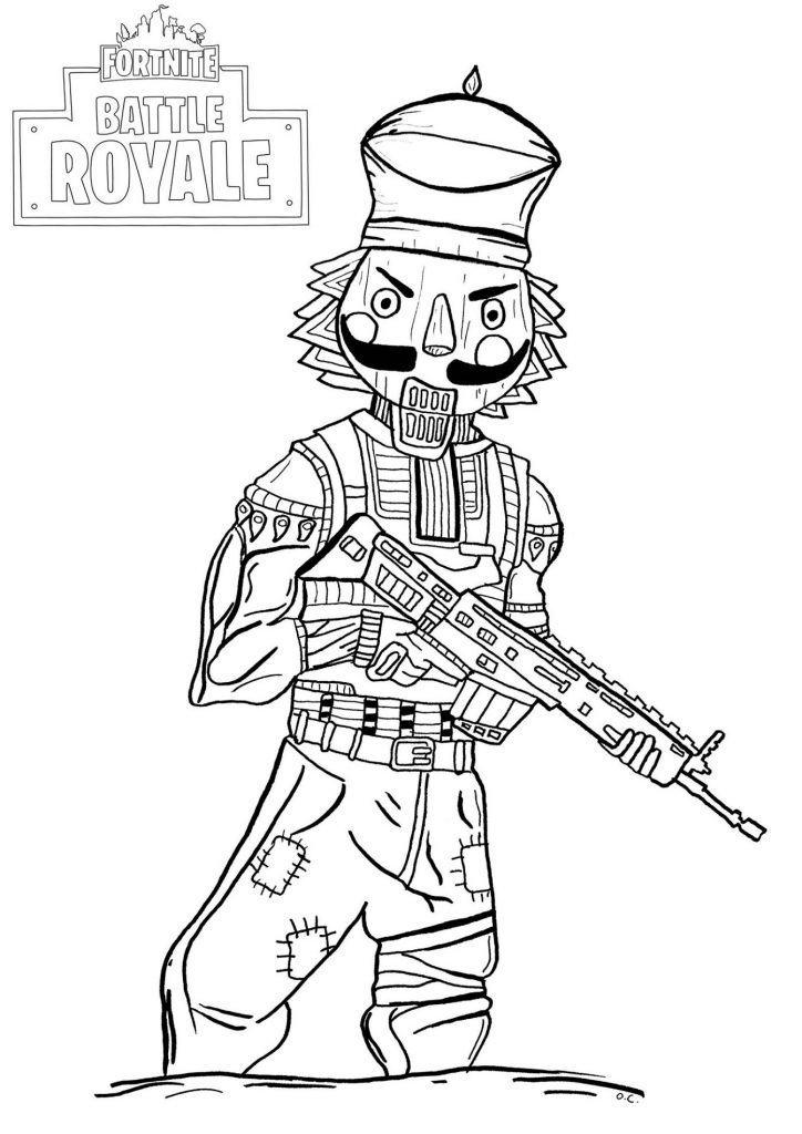 Printable Fortnite Coloring Book 101 Coloring