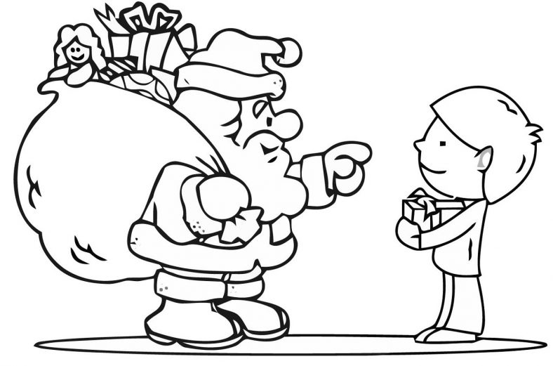 Free Christmas Coloring Pages Free