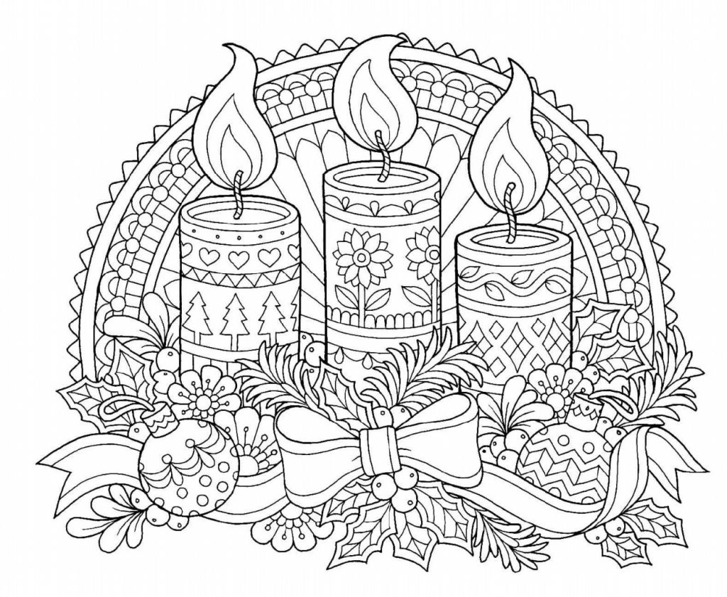Free Christmas Coloring Sheets Decoration