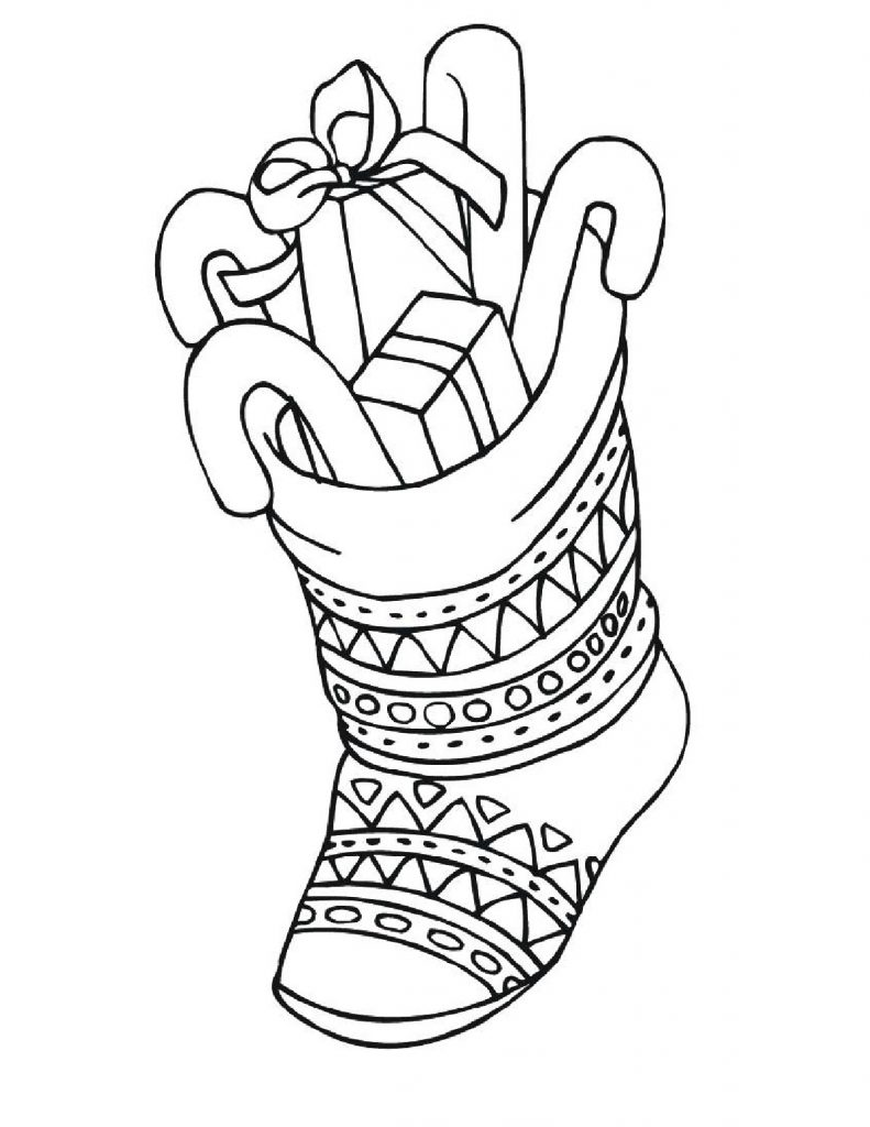 Free Christmas Coloring Sheets For Kids