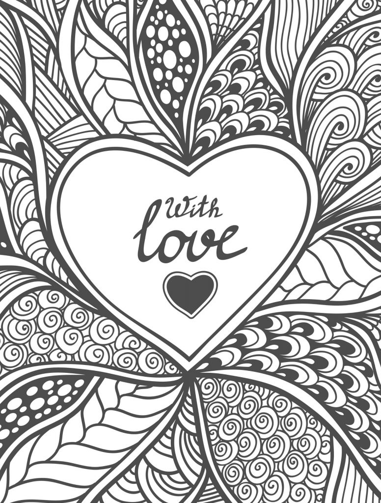 Free Coloring Pages For Adults Detailed