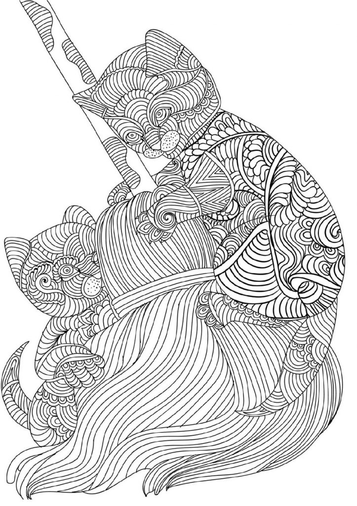 Free Online Coloring Pages For Adults Strees Relief
