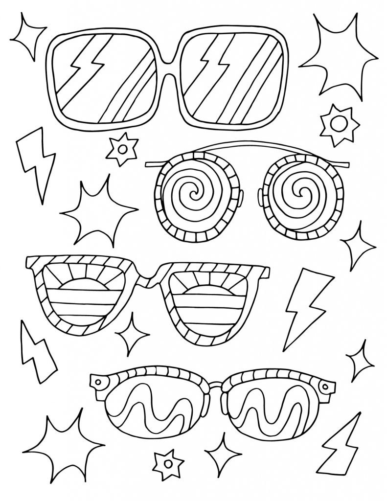 Free Printable Coloring Pages For Adults Summer