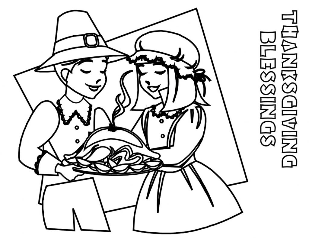 Free Printable Thanksgiving Coloring Pages Religious