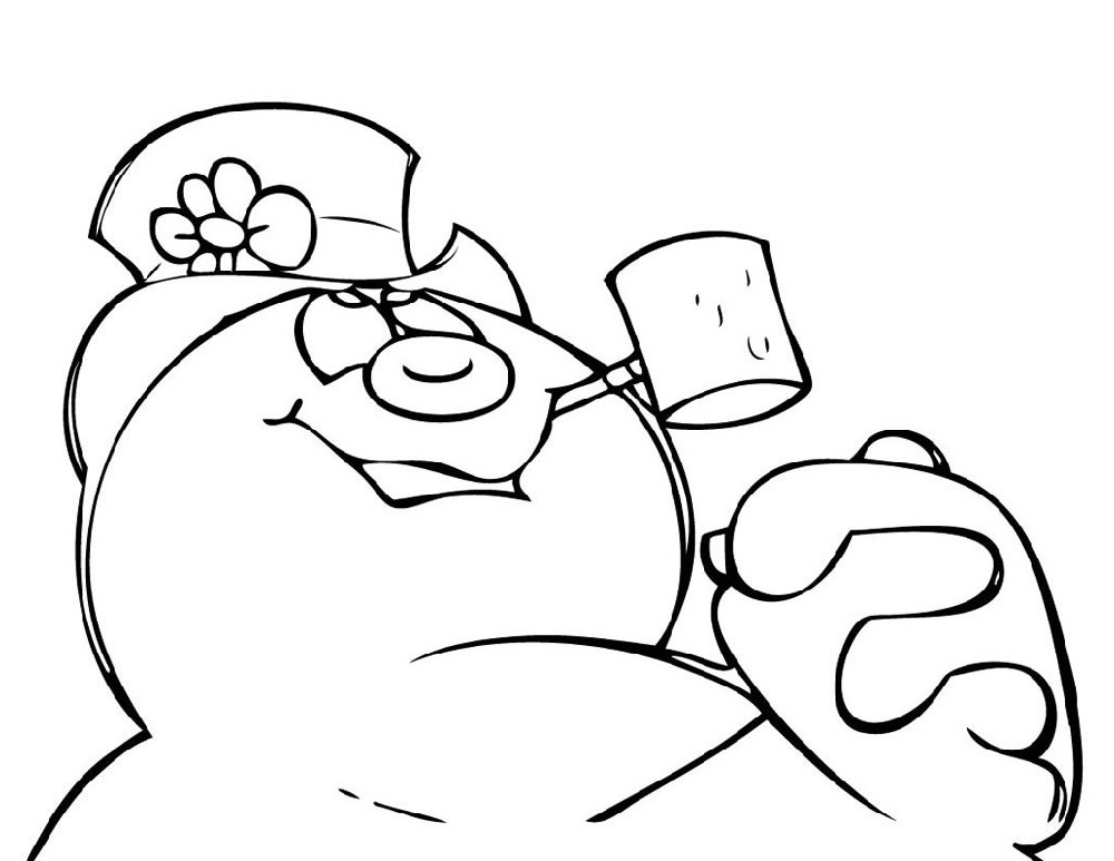 Frosty The Snowman Coloring Pages Legend