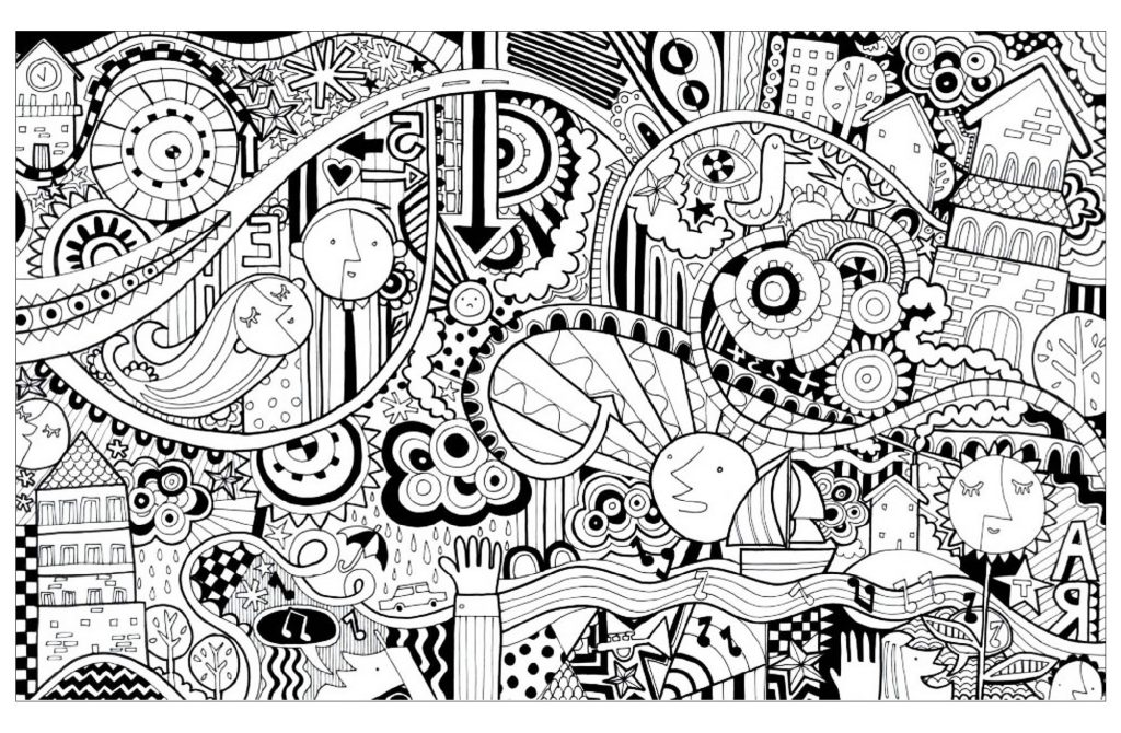 Fun Coloring Pages Doodle