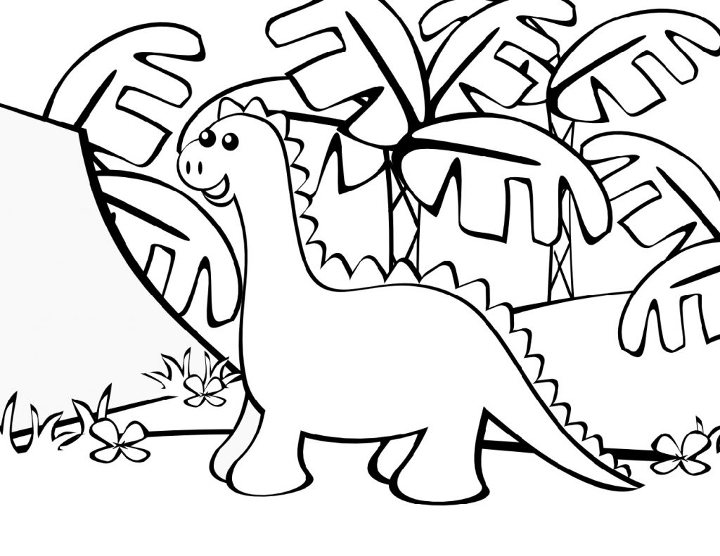 Fun Dinosaur Coloring