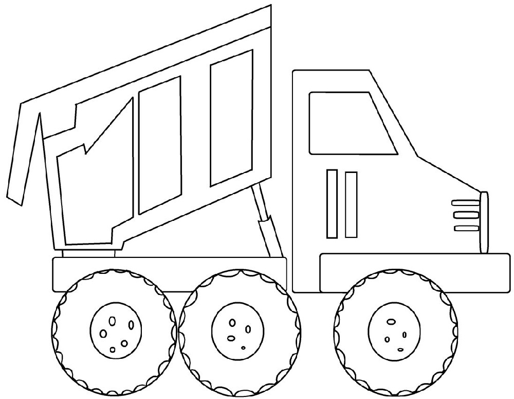 - Printable Big Truck Coloring Pages For Kids 101 Coloring