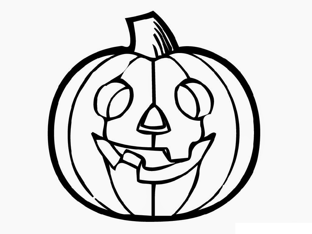 Halloween Coloring Pages For Toddlers Pumpkin