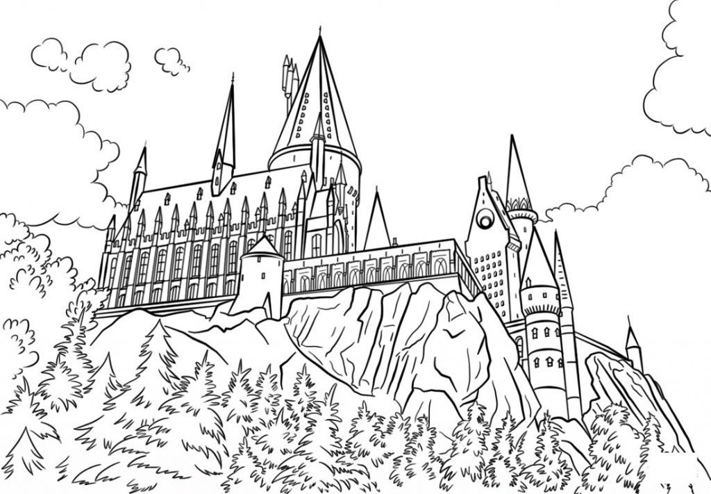 - Harry Potter Coloring Pages 101 Coloring