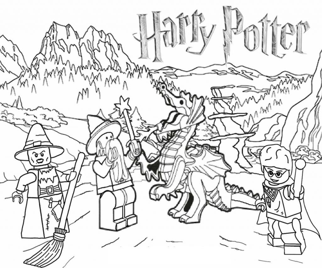 Harry Potter Coloring Pages | 101 Coloring