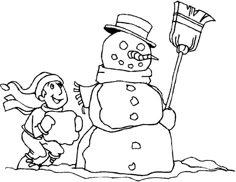 Holiday Coloring Pages Christmas