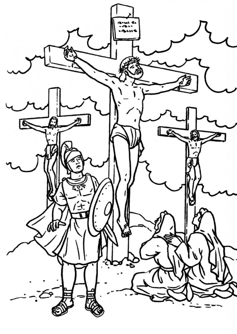 Jesus Coloring Pages Bible