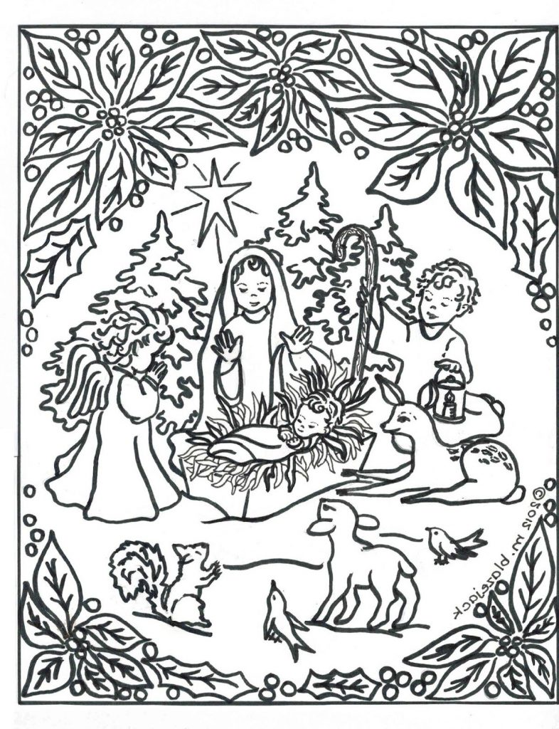Jesus Coloring Pages For Adults