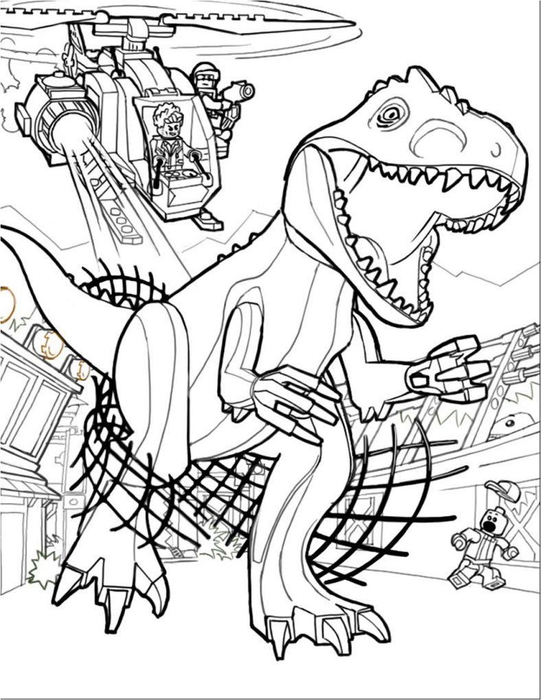Jurassic Park Coloring Pages Pdf