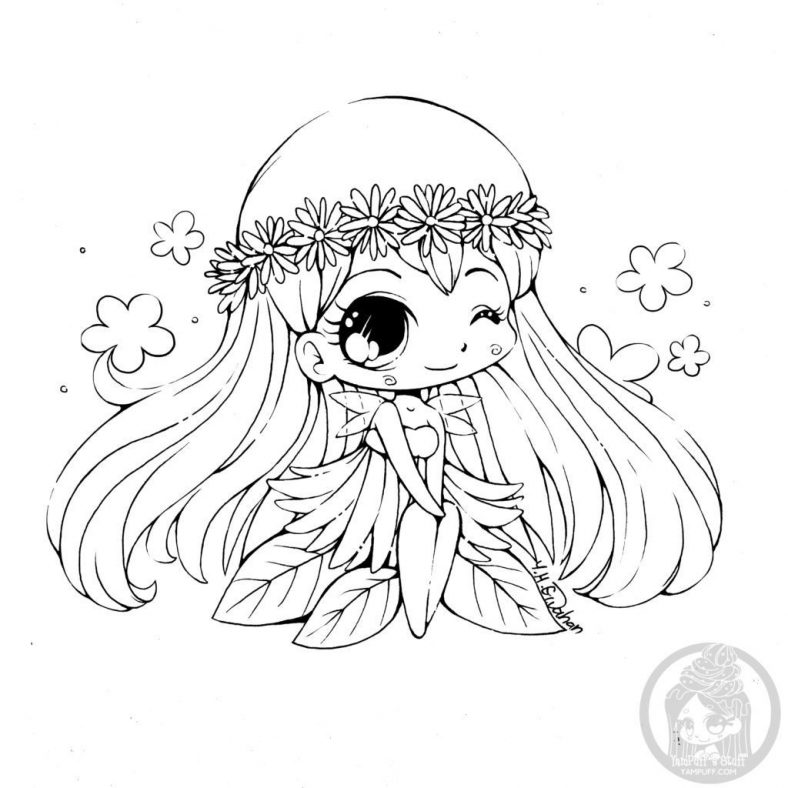Incredible Kawaii Coloring Pages For Kids 101 Coloring