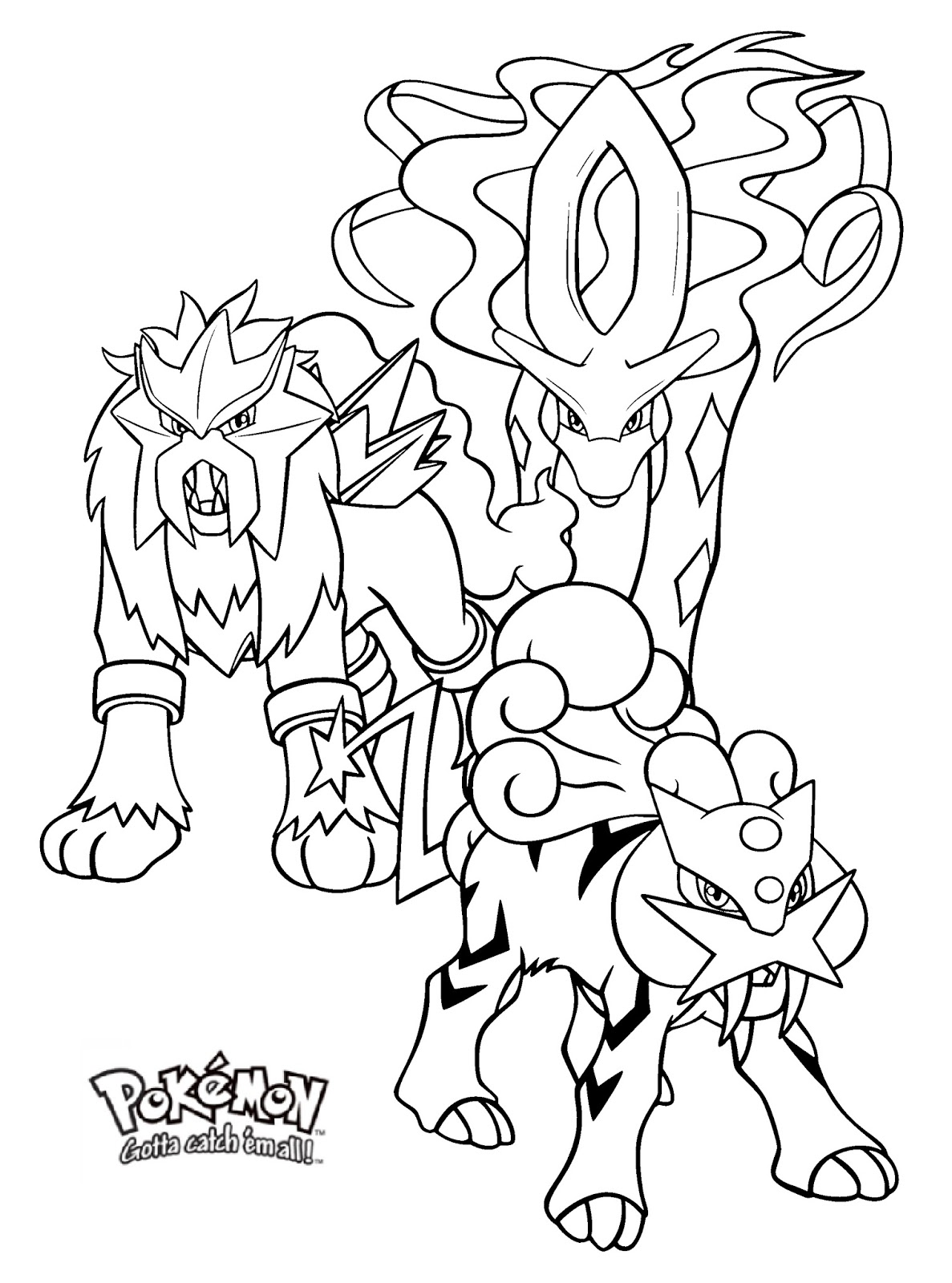 Legendary Pokemon Coloring Pages | 101 Coloring