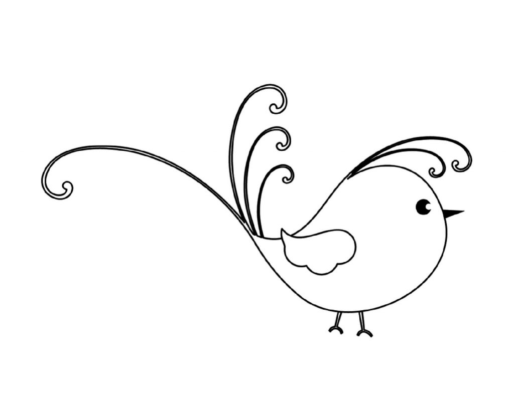 Little Bird Coloring Pages
