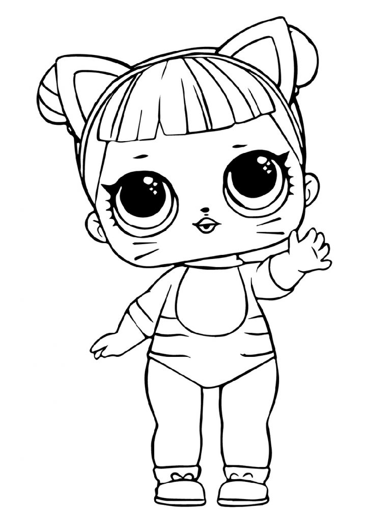 Lol Coloring Pages Baby