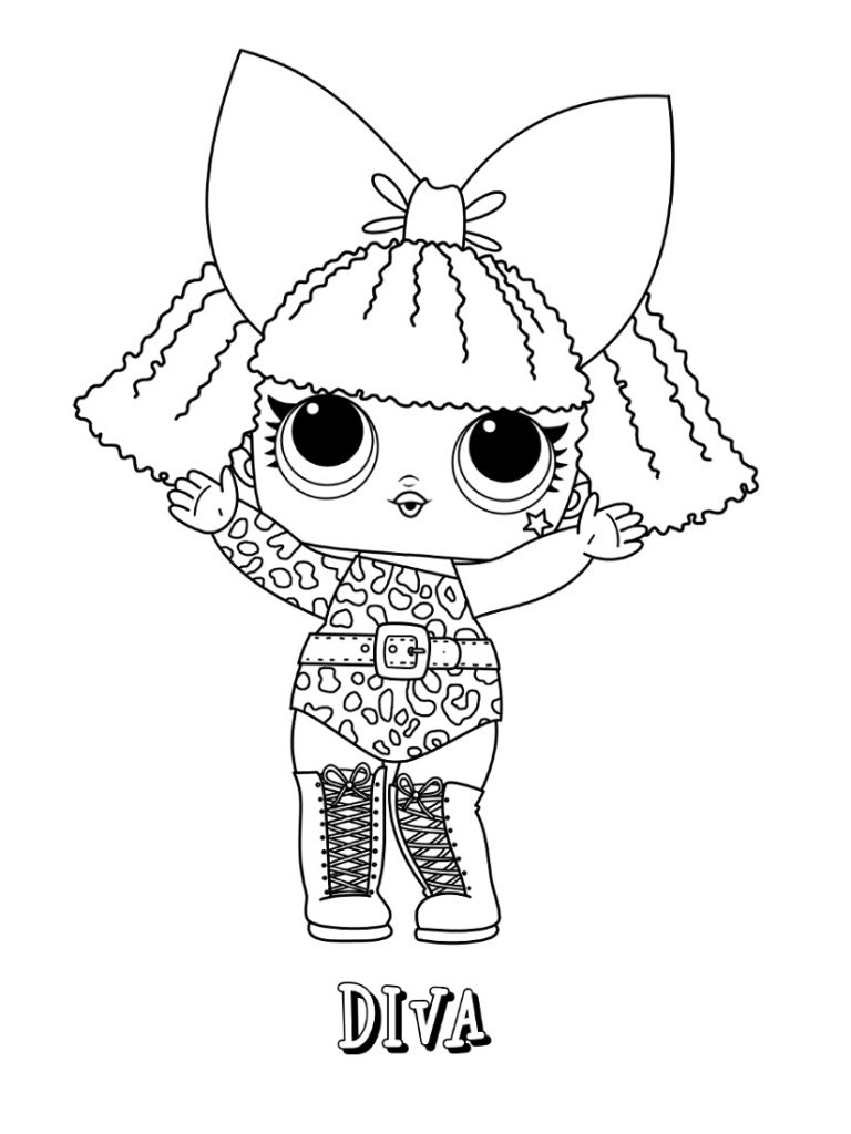 Lol Coloring Pages Diva