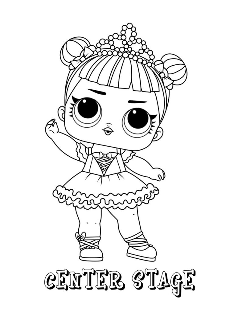 Lol Colouring Pages Dolls