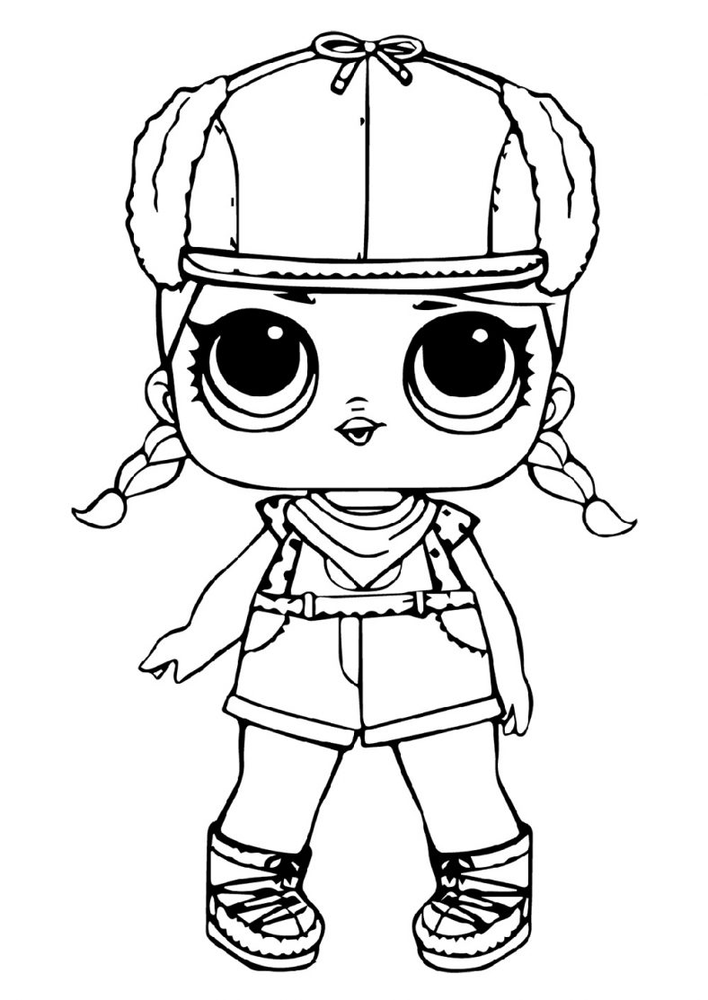 LOL Doll Coloring Pages to Print | 101 Coloring