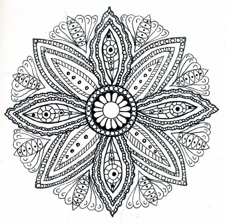 - Wonderful Mandala Coloring Pages For Relaxation 101 Coloring