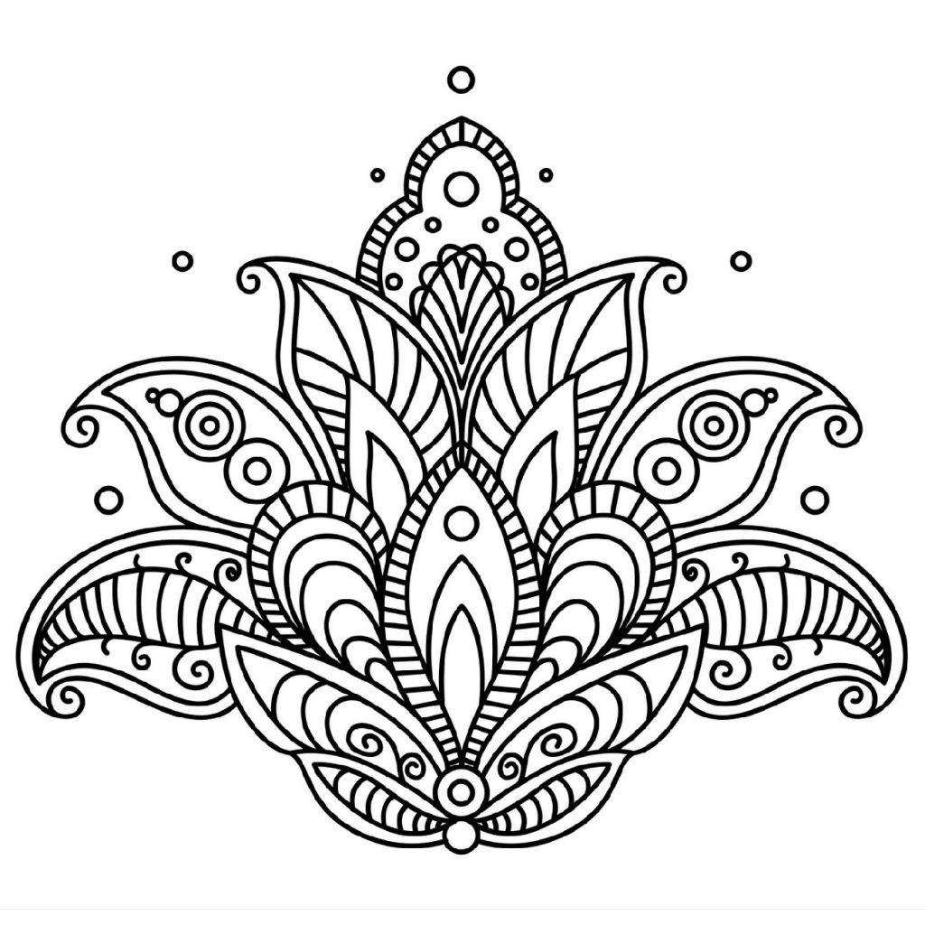 Wonderful Mandala Coloring Pages For Relaxation 101 Coloring