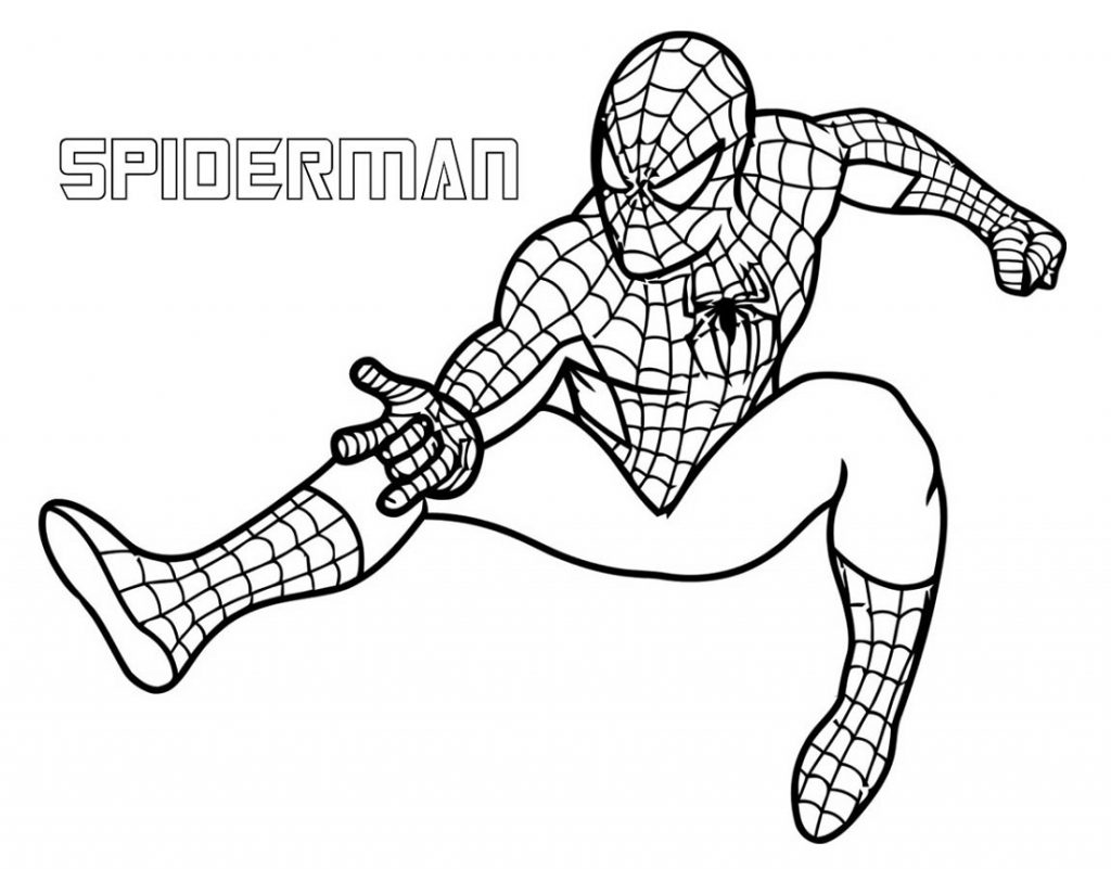 Marvel Coloring Pages Heroes