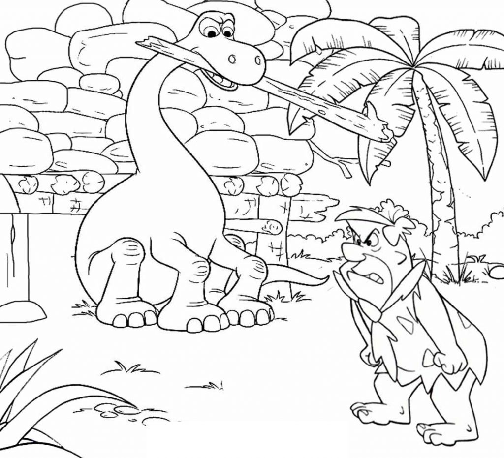 Mega Dinosaur Coloring Book