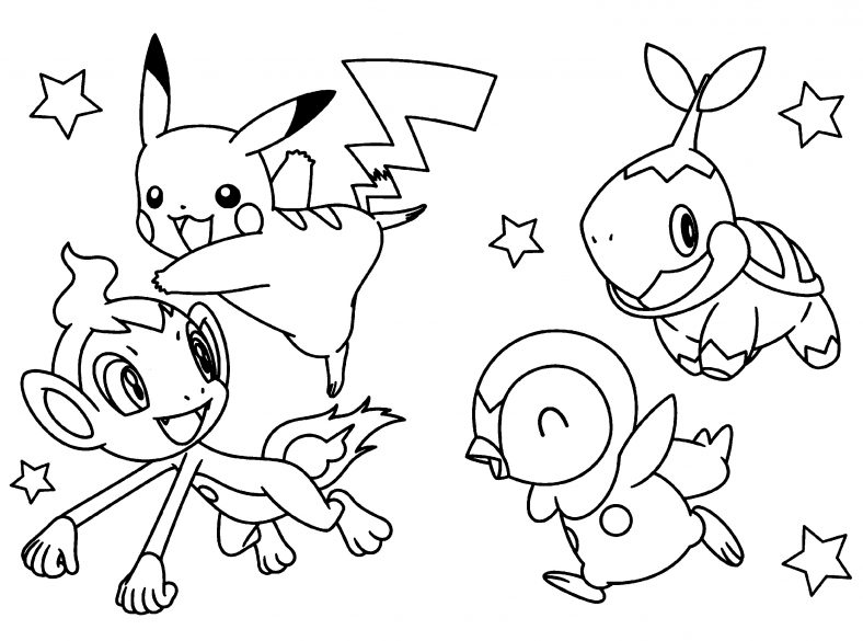New Pokemon Coloring Pages