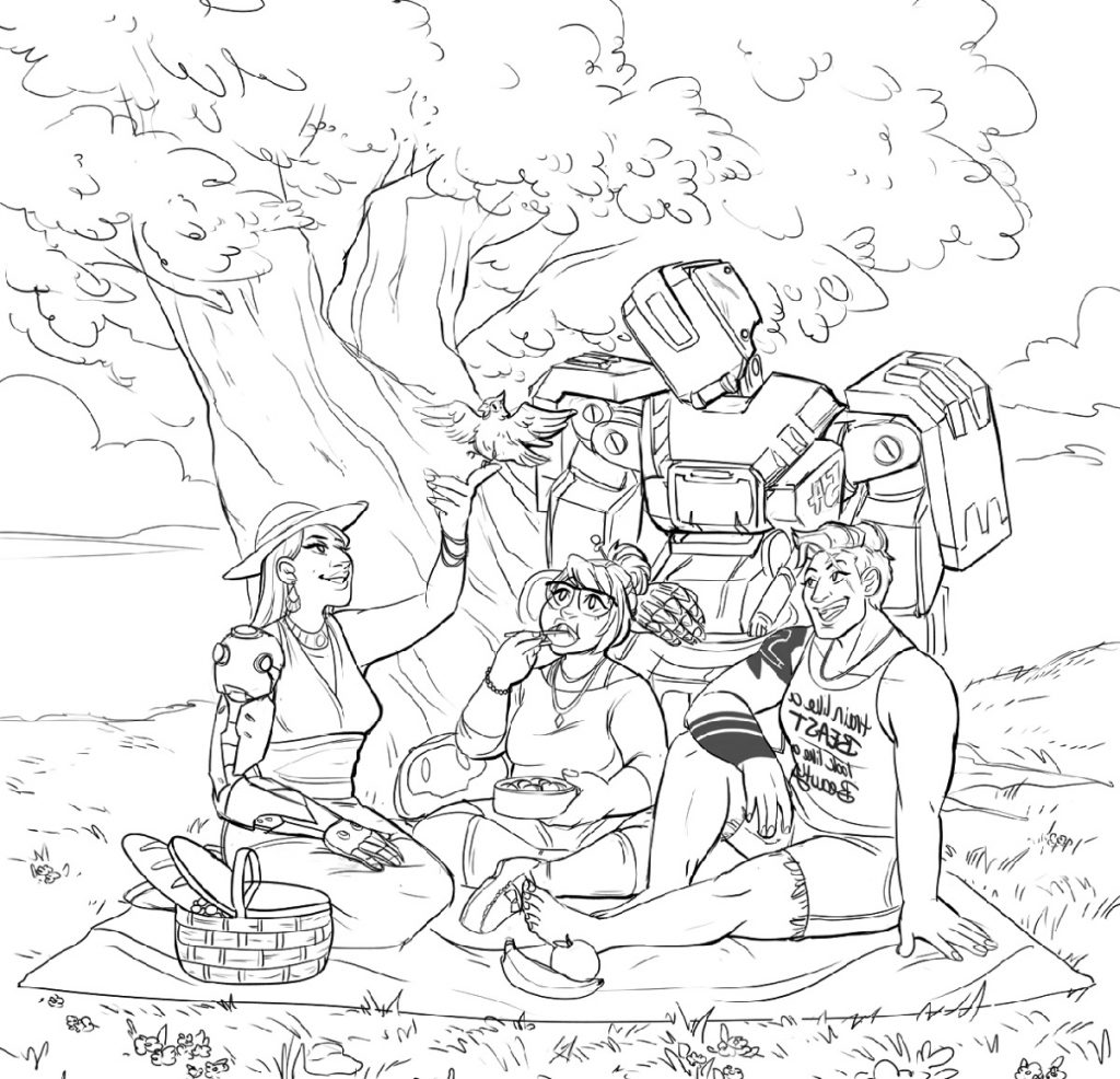 Overwatch Coloring Pages Printable