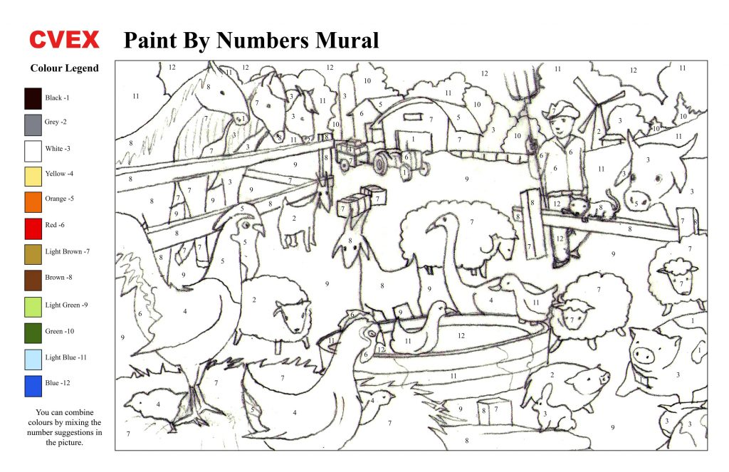 Paint By Numbers Online For Kids