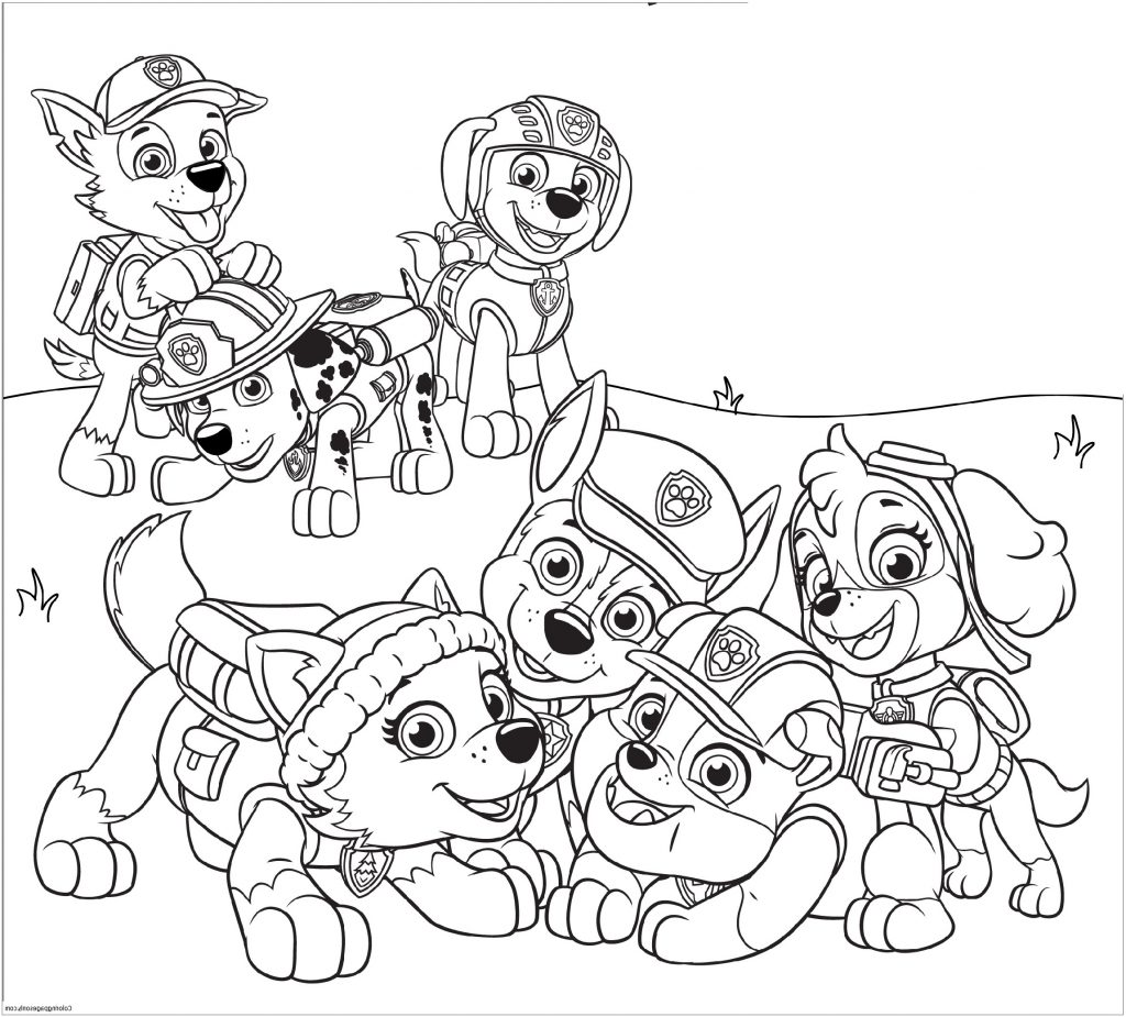 PAW Patrol Coloring Pages | 101 Coloring