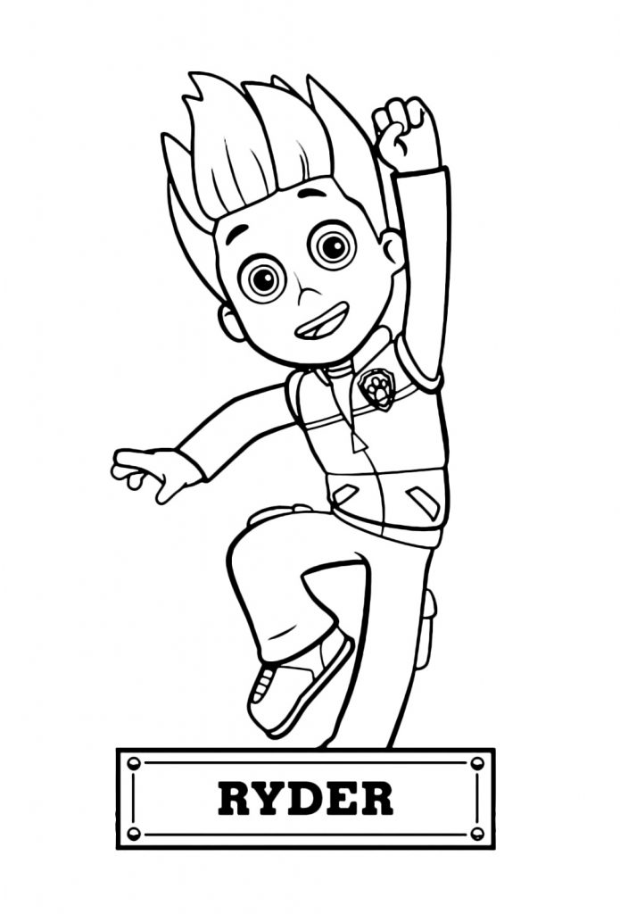 PAW Patrol Coloring Pages 101 Coloring