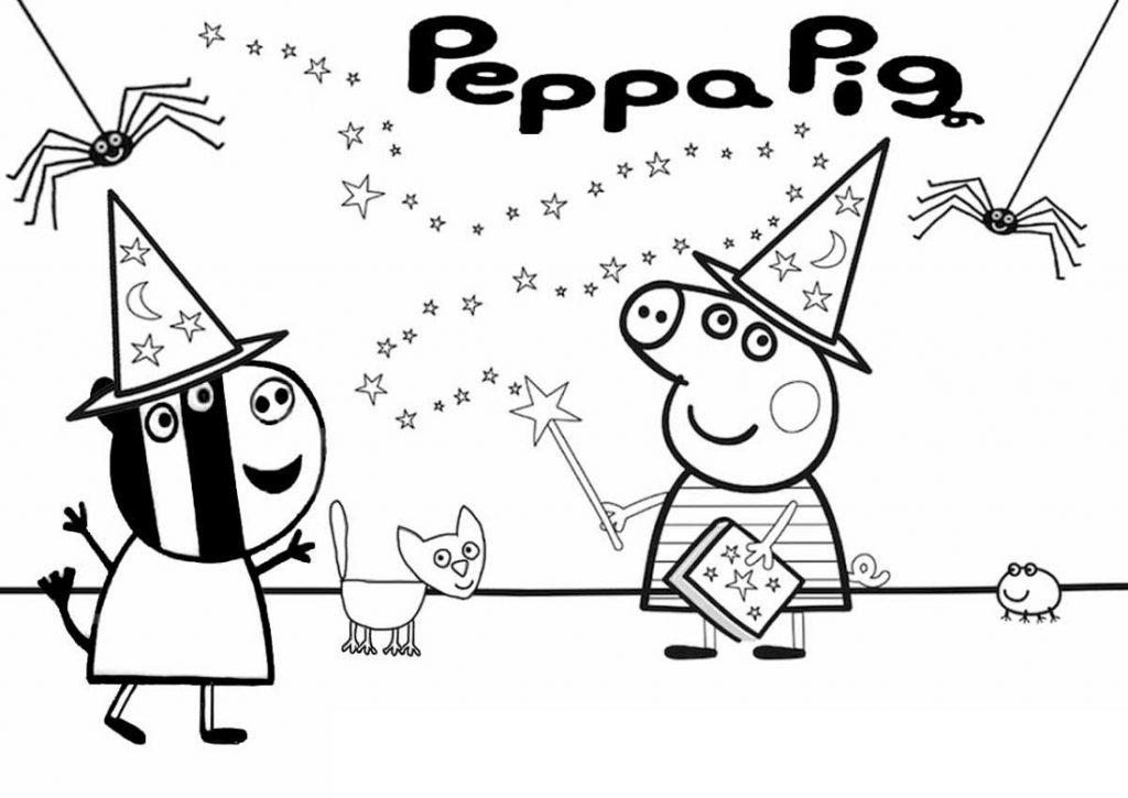 Peppa Pig Colouring Sheets Fun