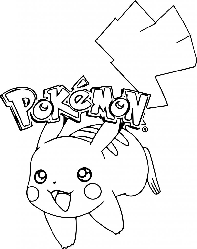 Pikachu Coloring Pages Pokemon