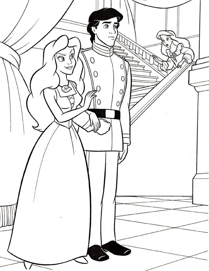 Prince And Princess Coloring