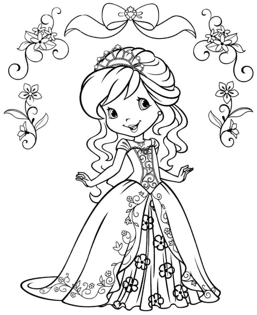 Princess Coloring Chibi