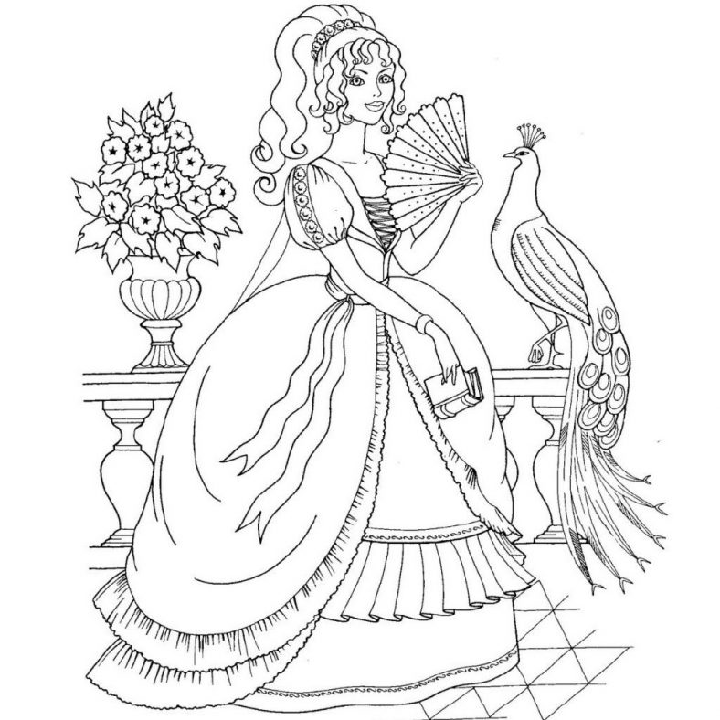 Gorgeous Disney Princess Coloring Pages 101 Coloring