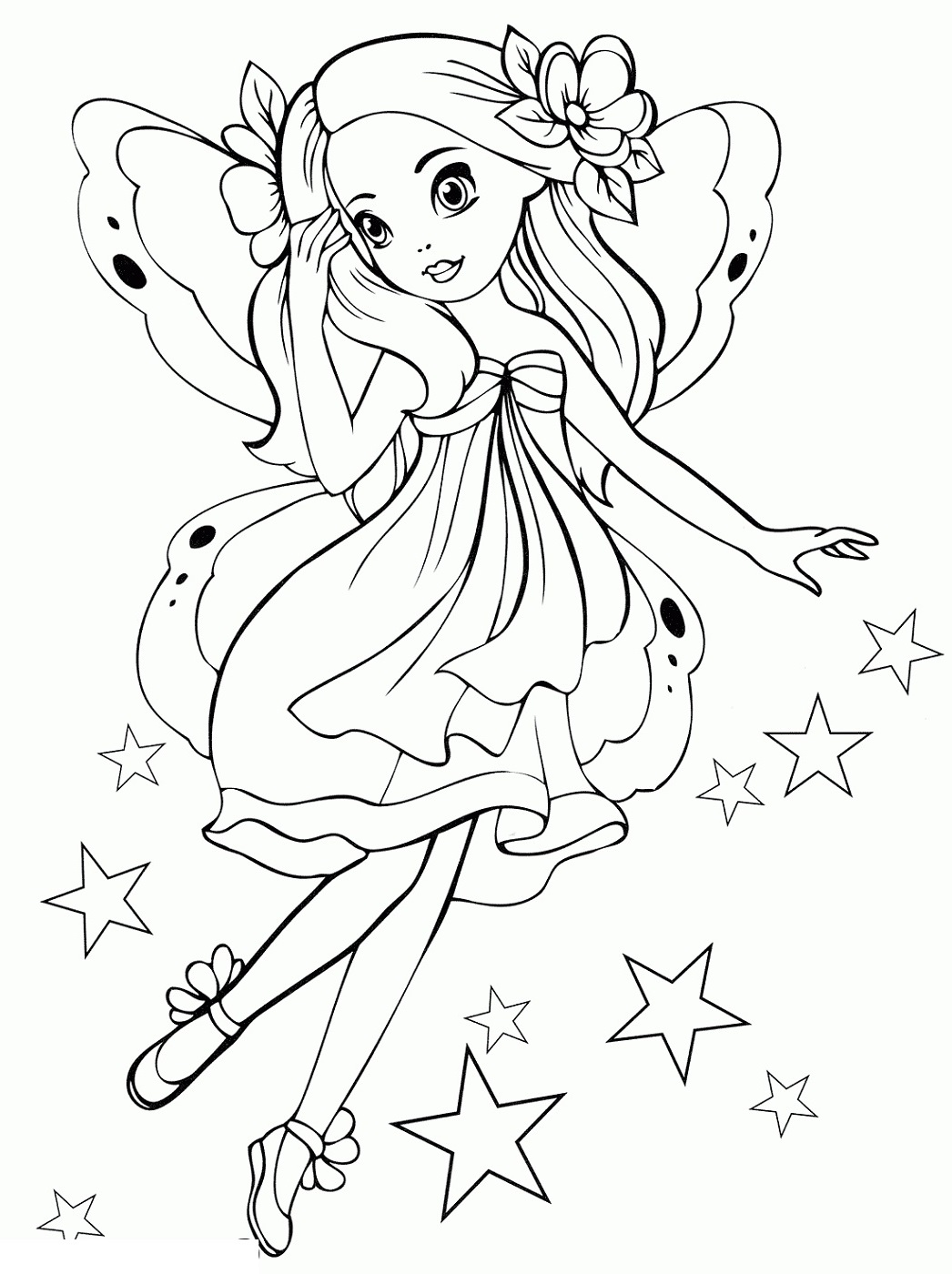 Printable Coloring Pages for Girls | 101 Coloring