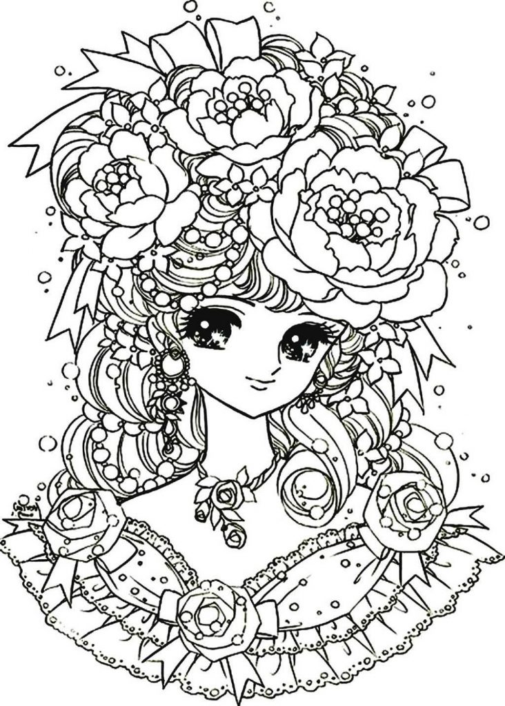 Printable Coloring Pages For Girls Flower
