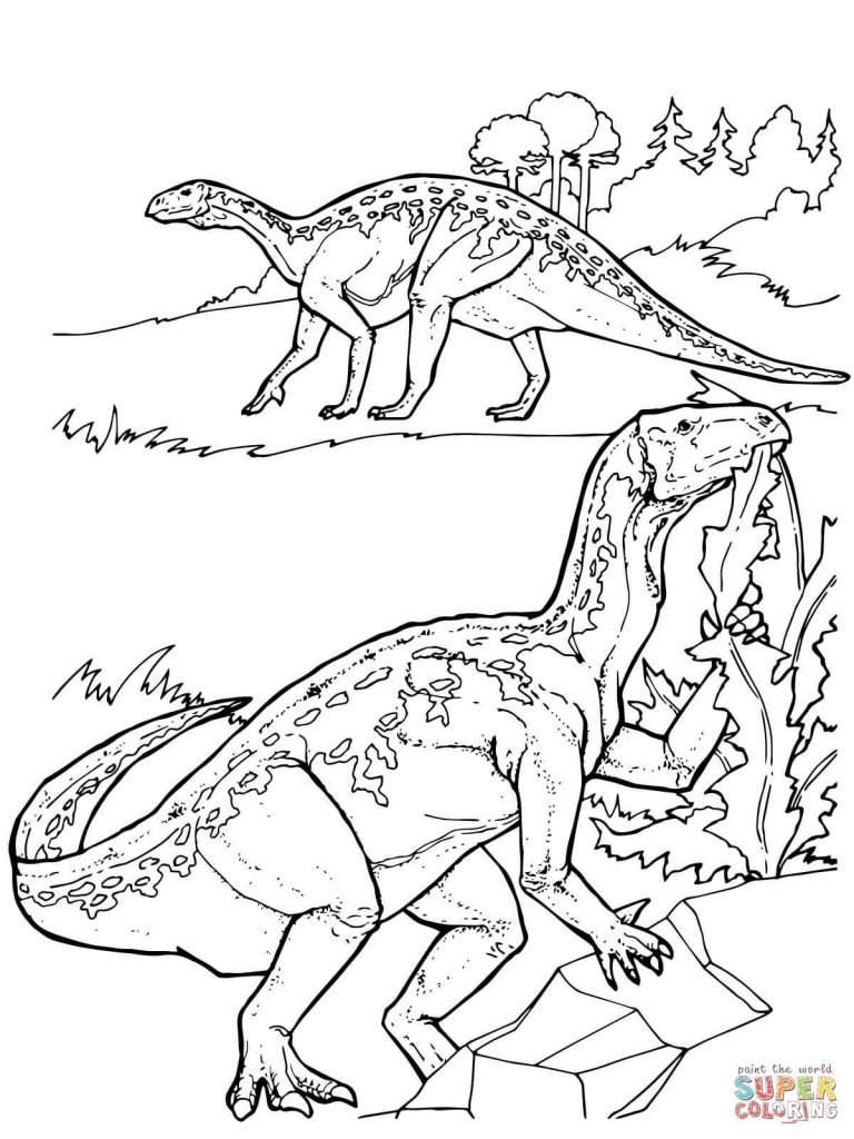 Printable Dinosaur Coloring Pages Marvelous