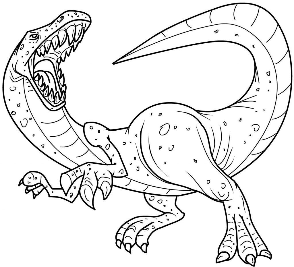 Printable Dinosaur Coloring Pages Printable